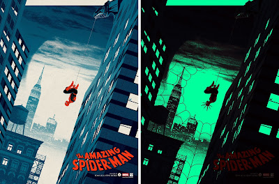 New York Comic Con 2017 Exclusive The Amazing Spider-Man Screen Print by Matt Ferguson x Grey Matter Art x Marvel