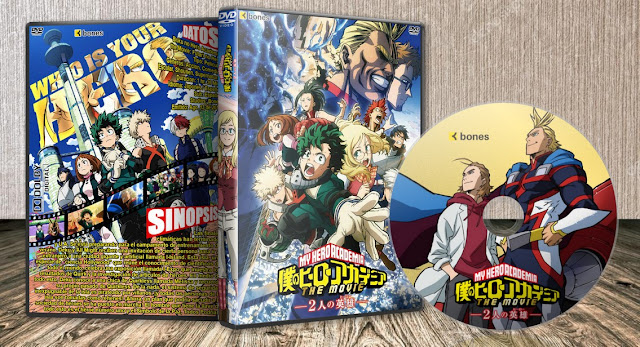 Boku no Hero Academia the Movie: Futari no Hero   Cover DVD  