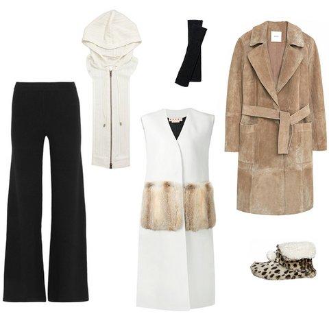Пальто без рукавов: с чем носить новый модный тренд