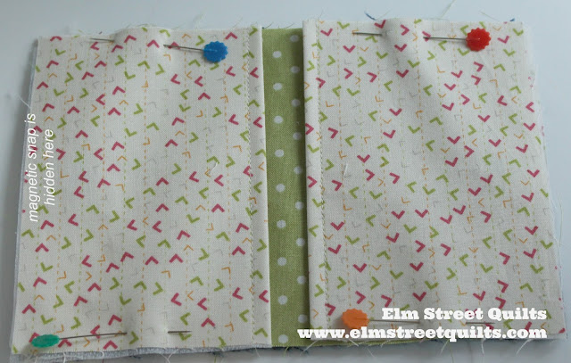 Elm Street Quilts Purse Pack tutorial