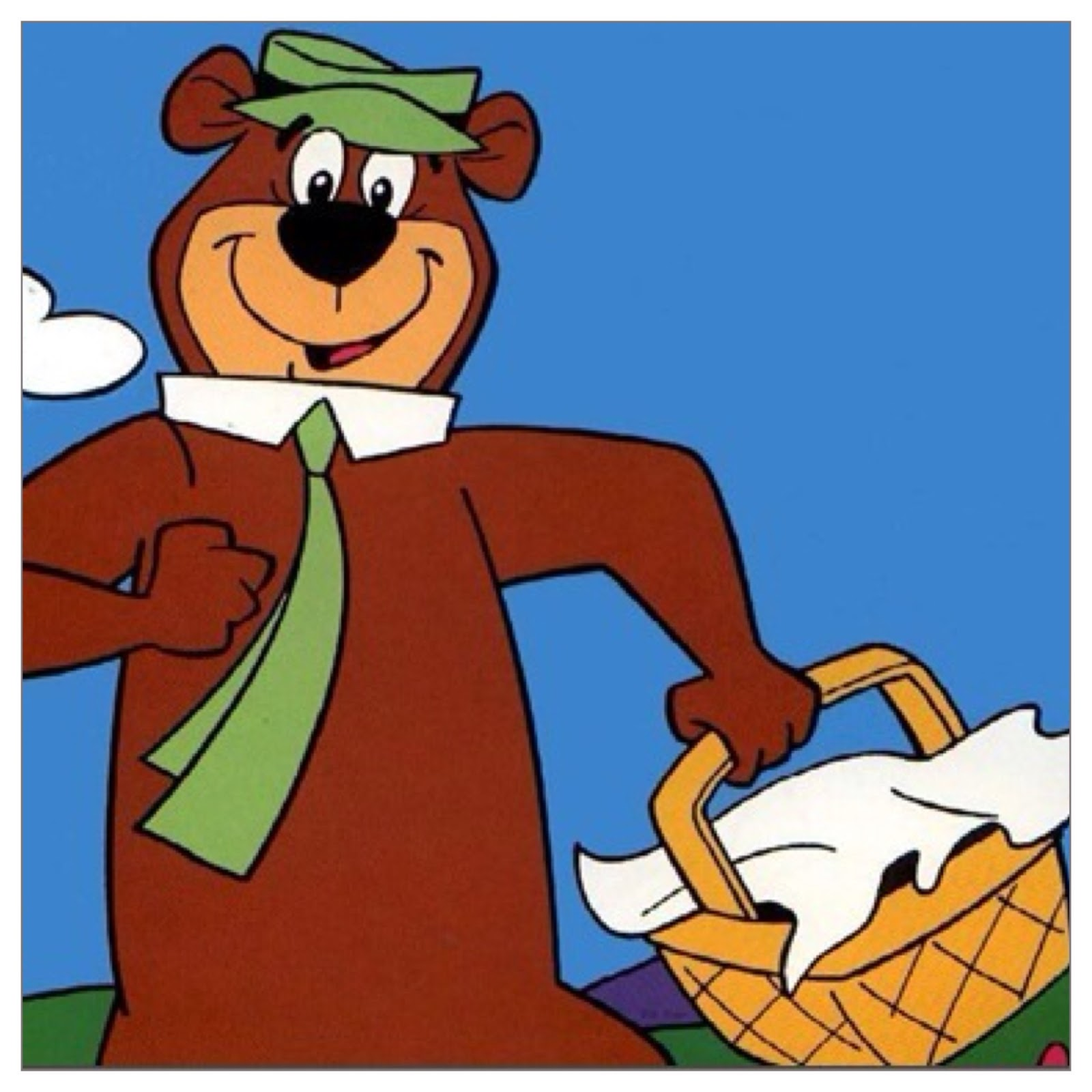 Yogi Bear Quotes Picnic Basket: The Vegetable Patch Diaries: P-P-Perfect Picnic