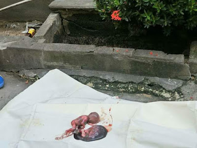 Graphic: Repairman finds baby