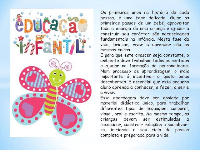 Mensagem Para Os Professores Do Ministério Infantil: Portal Da Educação Infantil SEDUC/Parnaiba: Mensagem Aos