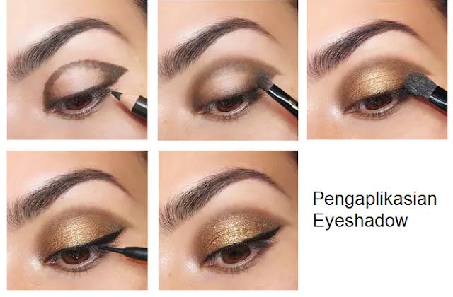 Pengaplikasian Eyeshadow