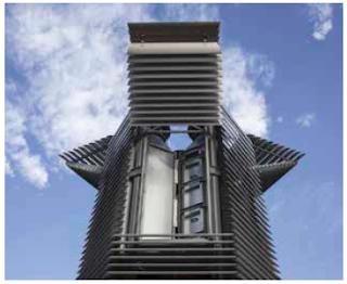 China instala una torre  aspirador de Smog