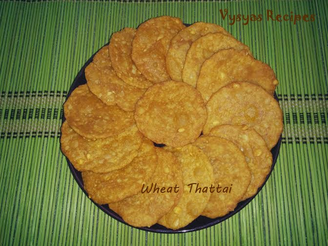Wheat Chekkalu
