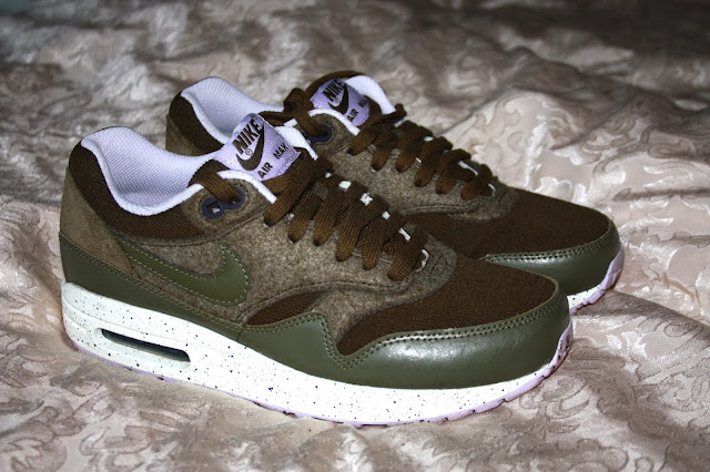 Air Max 1 Dark Loden Medium Olive Flussperle Sneakerfreaker