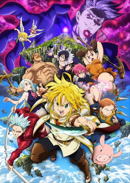 فيلم Nanatsu no Taizai قادم في أغسطس - موقع أنمي4يو Anime4U