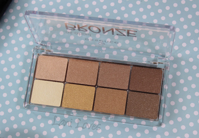 Essence All About Bronze eyeshadow palette swatches & review