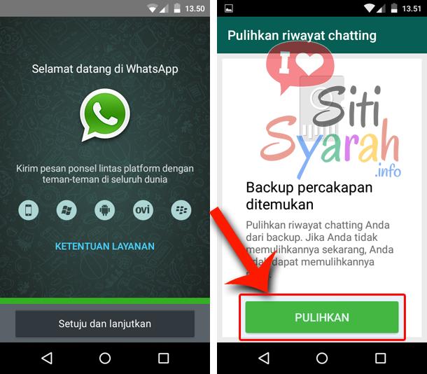 cara memindahkan percakapan whatsapp