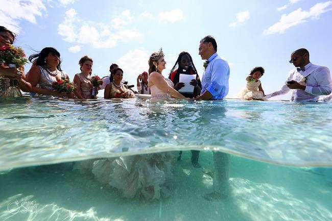 incrivel casamento realizado no mar no caribe 19 - Um casamento no meio do mar. Diferente de tudo que você já viu.