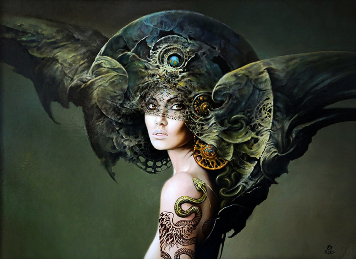 18-Karol-Bąk-Beautifully-Stylised-Portrait-Paintings-www-designstack-co