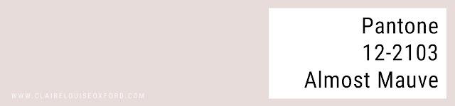 Colori Pantone 2018 Primavera - PANTONE 12-2103 Almost Mauve