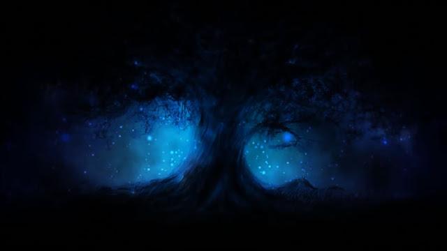 Dark Tree Wallpaper Engine