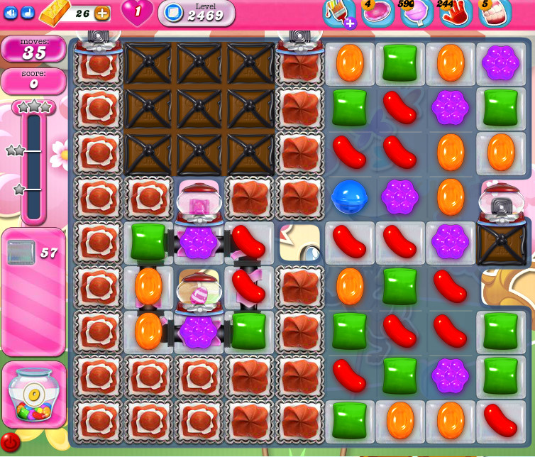 Candy Crush Saga level 2469