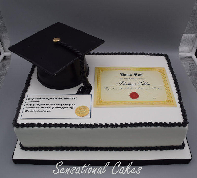 The Sensational Cakes Graduation Celebration Cakes Singapore Best