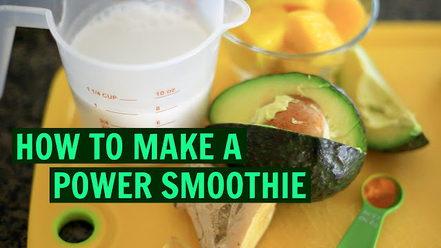 Power Smoothie, Recipe, Tanvii.com