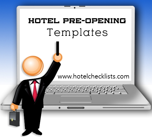Hotel Checklists: Hotel Pre-Opening Templates