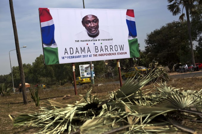 Gambia plans Feb.18 celebration as new leader arrives home