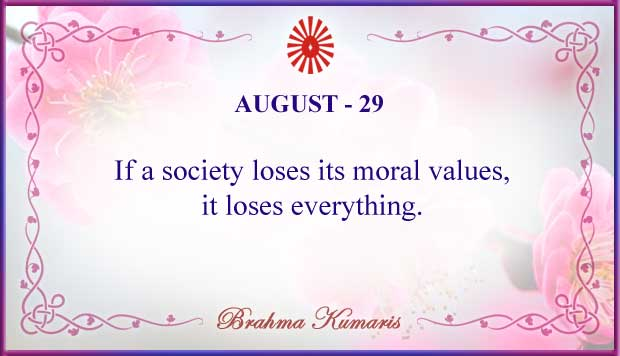 Thought For The Day August 29