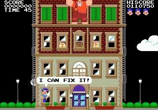 fix it felix megadrive juego