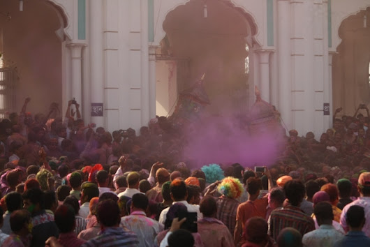 Riding the Colours of Holi