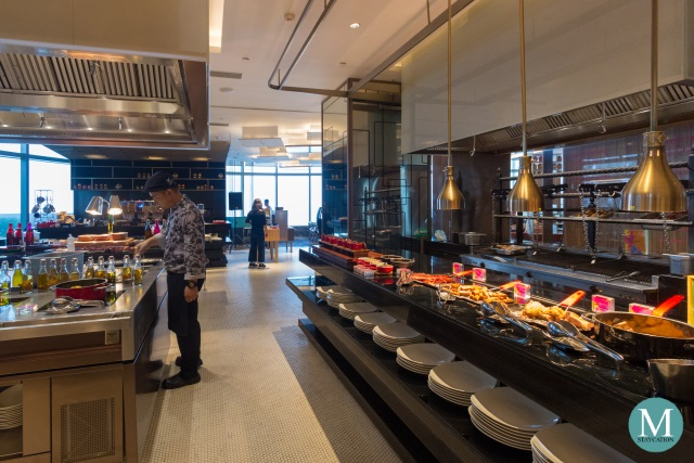 Buffet Breakfast at The Kitchen Table, W Hotel Suzhou