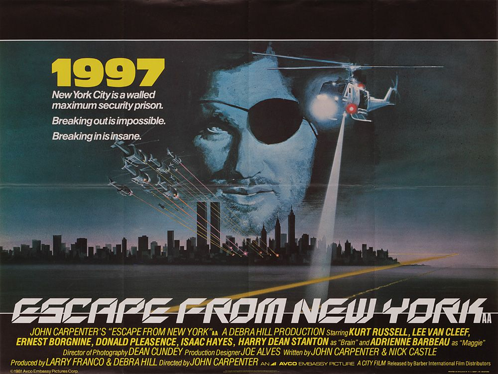 Movie Posters 1997: Pieropablo's World: 1997: Fuga Da New York