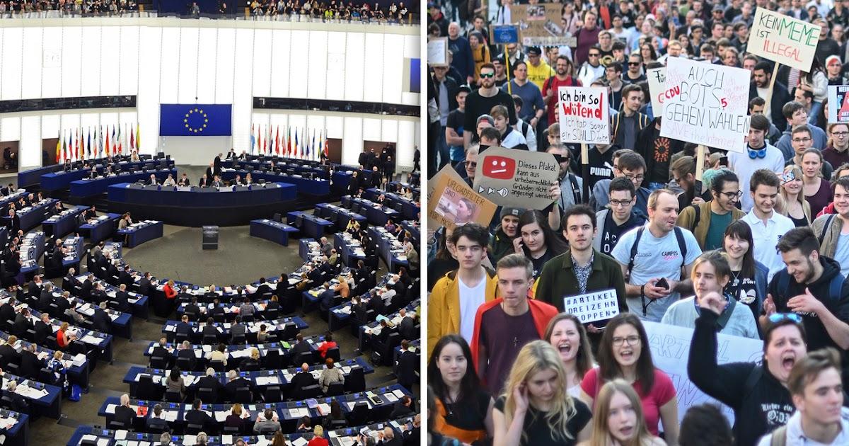 Uploadfilter: Heldenhafte EU-Parlamentarier knicken nicht vor mächtiger Bürgerlobby ein