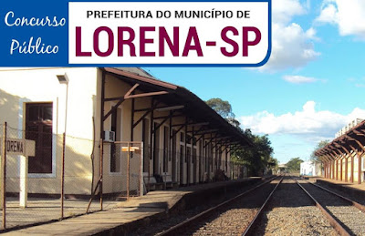 concurso Prefeitura de Lorena edital 2018