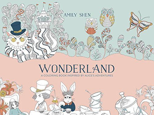 Wonderland: A Coloring Book Inspired By Alice's Adventures {A Review}