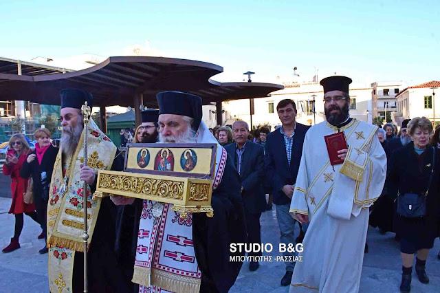 Ένας Άγιος από την Κρήτη στο Άργος (βίντεο)