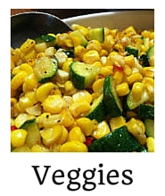Vegetables in Recipe Index on Creating a Foodie food blog by Rachael Reiton
