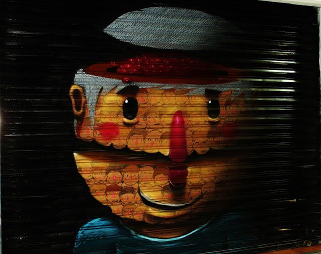 Street Art By Mexican Artist Sens In Queretaro For Board Dripper Urban Art Festival.