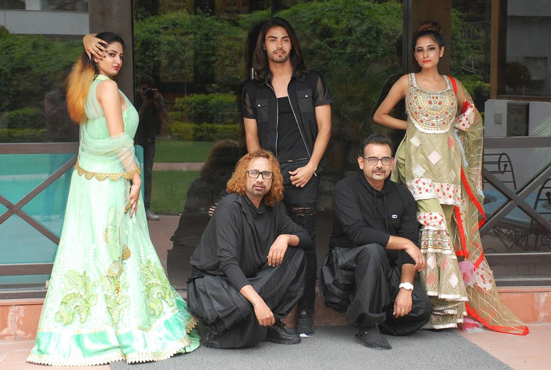 Designers Ajay Sinha & Buzy from Buzjay Fashion are all set to recreate magic of high couture fashion.