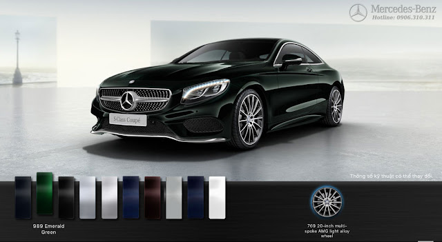 Mercedes S500 4MATIC Coupe 2015