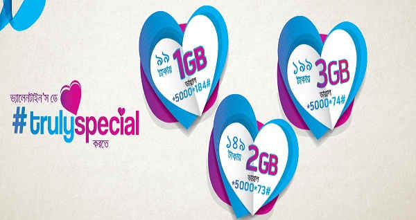 Grameenphone Valentines day offer