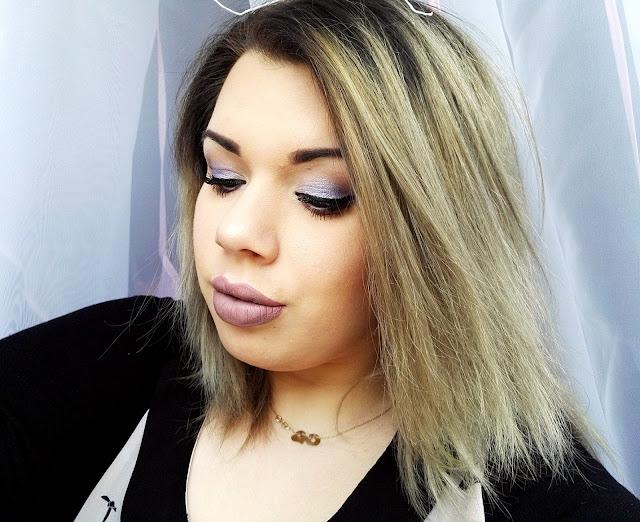 Prosty wiosenny makijaż | Makeup Revolution Eyes Like Angels