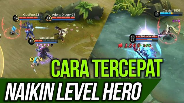Cara Cepat Menaikkan Level Hero di Mobile Legends
