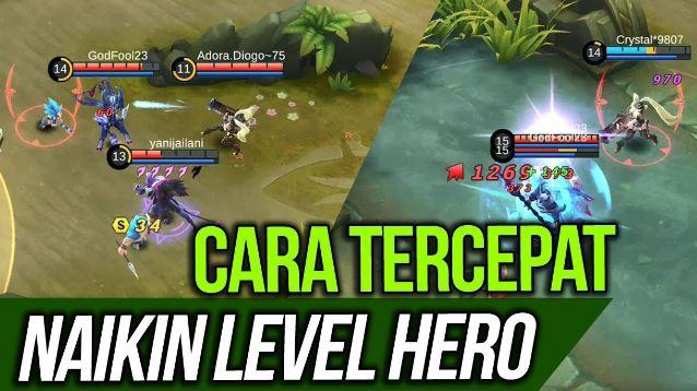 Cara Cepat Menaikkan Level Hero di Mobile Legends  Inilah Cara Cepat Menaikkan Level Hero di Mobile Legends Mudah