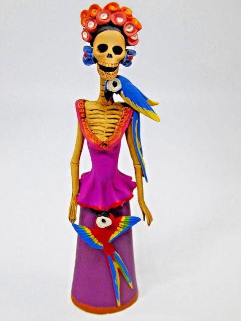 Day of the Dead, Catrinas, Frida Kahlo, skeleton art