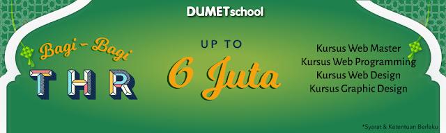 Kursus Website DUMET School, Kursus Desain Grafis DUMET School, Kursus Internet Marketing DUMET School,