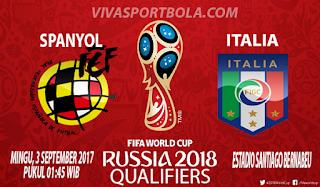 Prediksi Spanyol vs Italia 3 September 2017