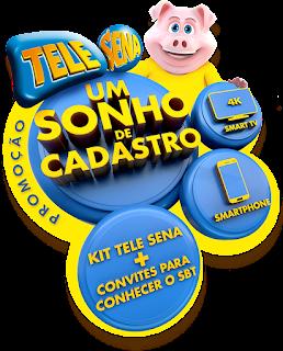 Promoção Tele-Sena Um Sonho de Cadastro