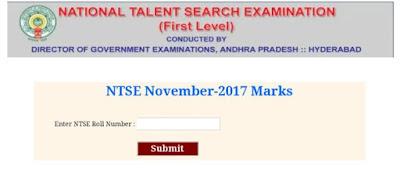 AP NTSE Results 2018-2019 Manabadi