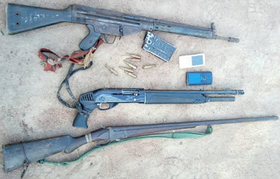 firearms recovered bandit taraba state