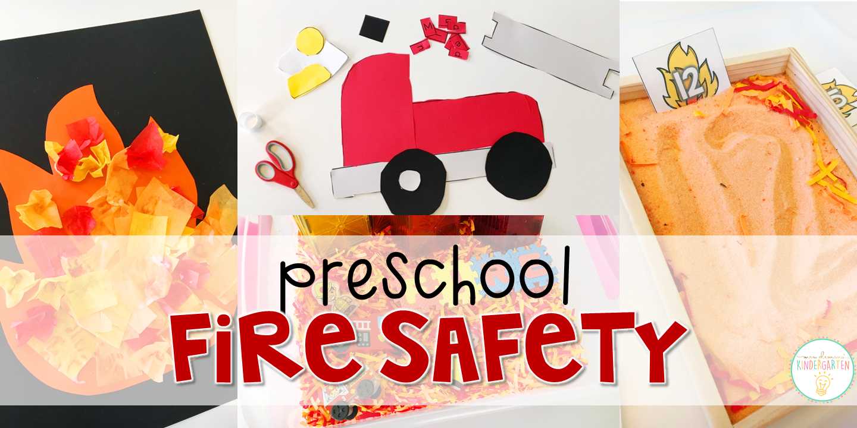 Preschool Fire Safety Mrs Plemons Kindergarten