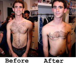 Las peores depilaciones masculinas - Bigote
