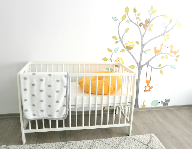 neutral baby nursery tour with ikea ideas