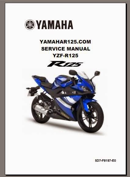 Yamaha Mt 125 service Manual pdf on